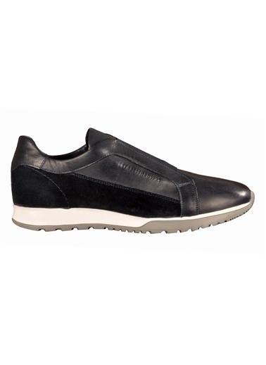 Luciano Bellini Lucıano Bellını 110002 Siyah Erkek Günlük Ayakkabı Lacivert